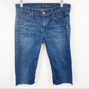 COH   Jean Capris Dita Petite Bootcut Size 28